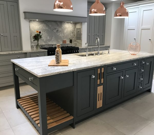 Fitted Kitchen grey