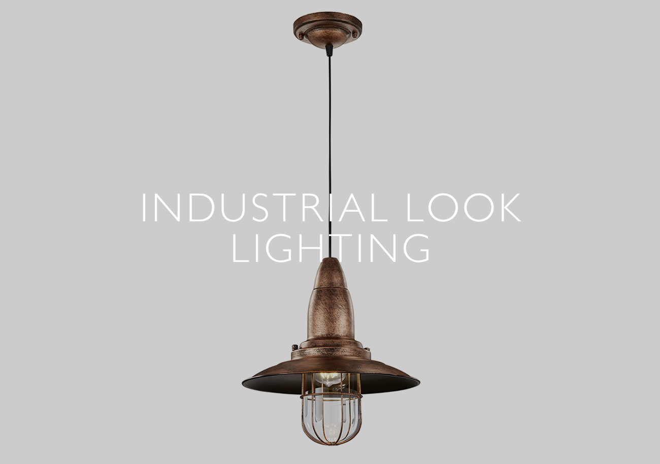 industrial look lighting