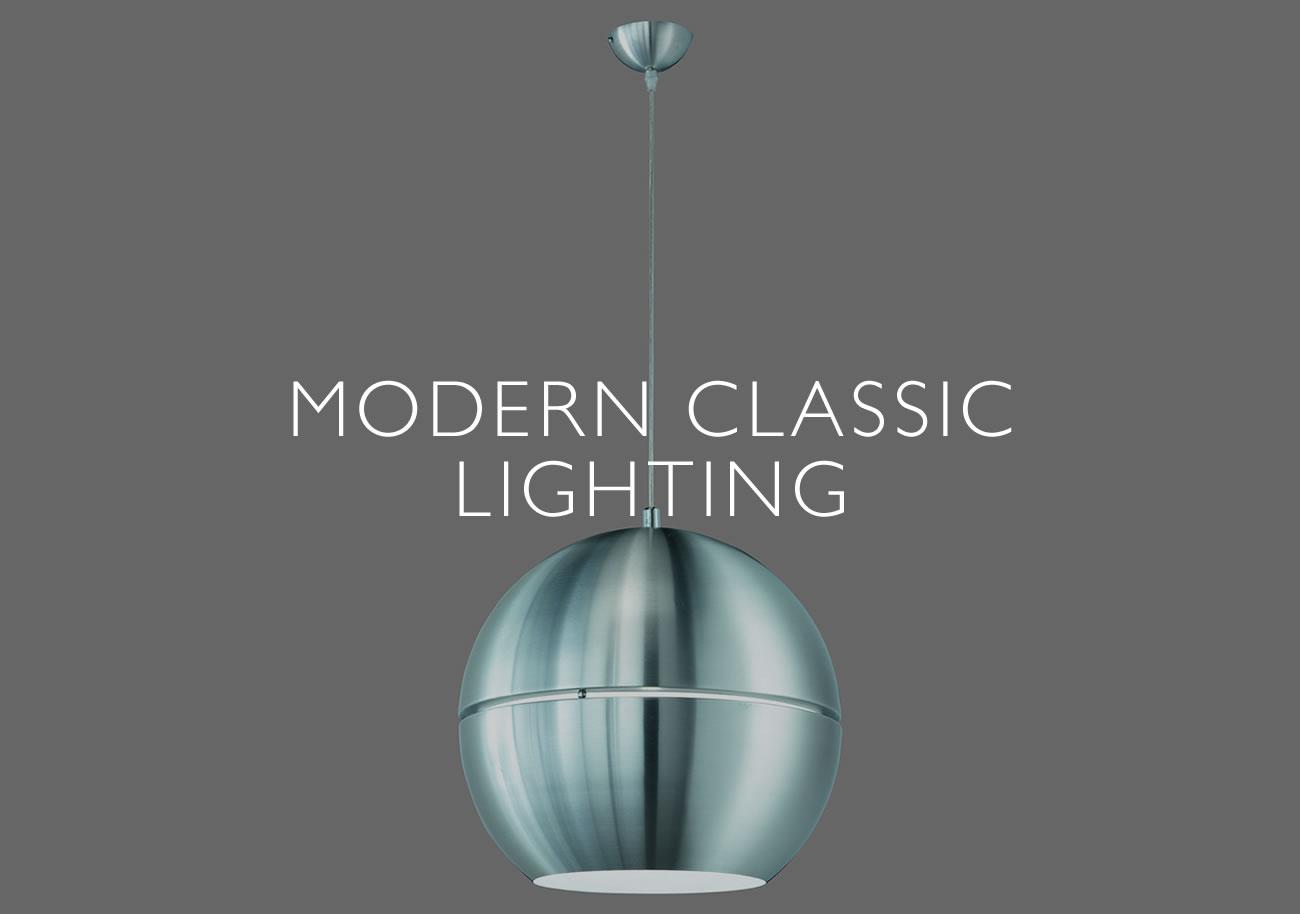 modern classic lighting